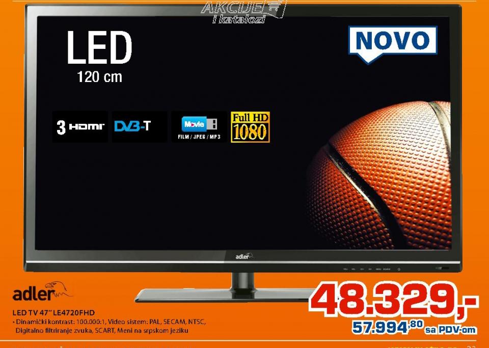 LED tv  47'' LE4720FHD