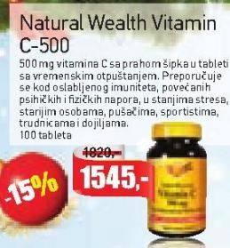 Kapsule vitamin C-500