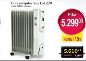 Uljani radijator LS1220