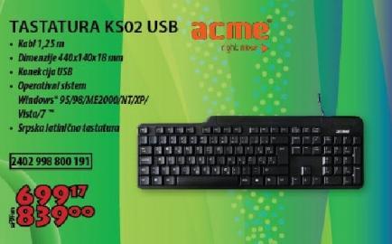 Tastatura KS02