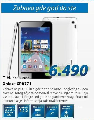 Tablet Xp8771 Xplore