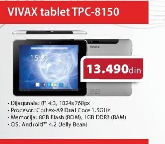 Tablet TPC-8150