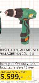 Akumulatorska bušilica VLN CDL 10.8