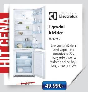 Ugradni frižider ERN29801