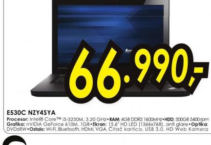 Laptop Edge E530c NZY4SYA