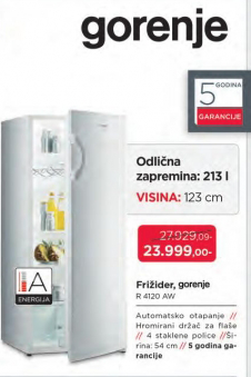 Frižider R 4120 AW