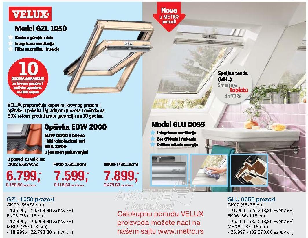 Prozor Gzl 1050