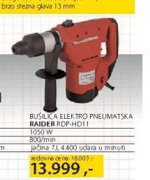 Električna bušilica Raider RDP HD11