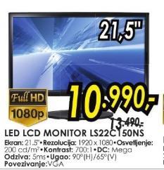"""Monitor LED 21,5"""" L522c150ns"""