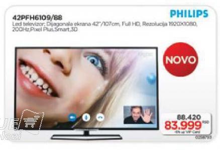 "Televizor LED 42"" 42PFH6109/88"