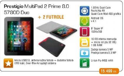 Tablet Multipad 5780D