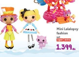 Igračka mini lalalopsy fashion