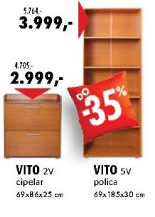 Polica Vito 5V
