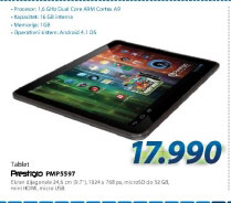 Tablet PC PMP5597D-BF-DUO