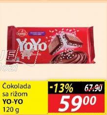 Čokolada riža