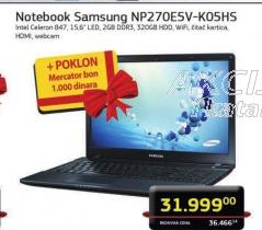 Notebook NP270E5V-KO5HS