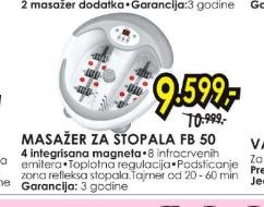 Masažer za stopala FB 50