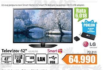 """Televizor TV 42"""" LED Smart 42LN570S"""