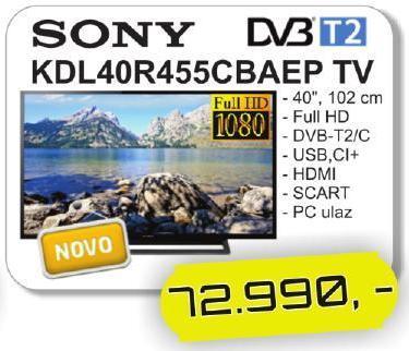 Televizor KDL40R450CBAEP