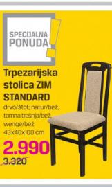Trpezarijski stolica ZIM Standard