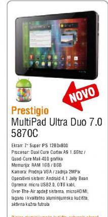 Tablet Multioad  Ultra duo 7.0 5870C