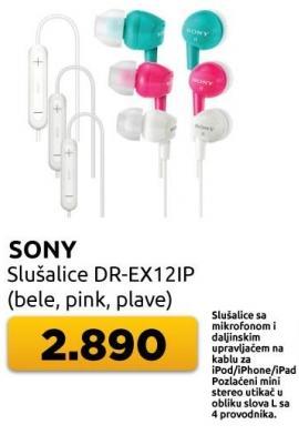 Slušalice Dr-ex12ip