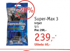 Brijač Super-Max 3