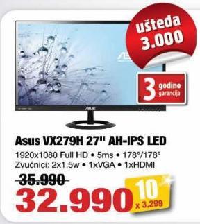 "Monitor LED 27"" Vx279h Ah-Ips"