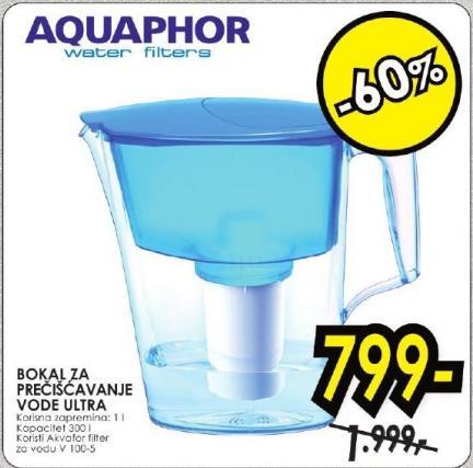 Bokal za prečišćavanje vode Ultra