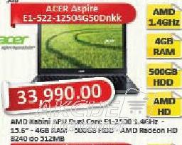 Laptop računar Aspire E1-522-12504G50Dnkk