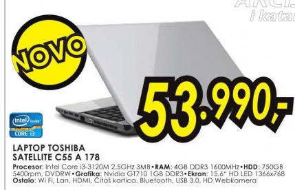 Laptop Satellite C55-A-178