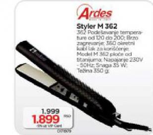 Styler M362