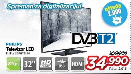 "Televizor LED 32"" 32pht4319"