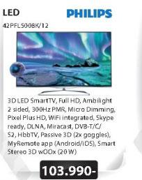 3D LED Televizor 42PFL5008K/12