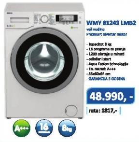 Mašina za pranje veša Wmy 81243 Lmb2