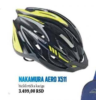 Biciklistička Kaciga Nakamura Aero X511