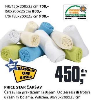 Čarsav Price Star