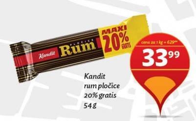 Čokoladica rum