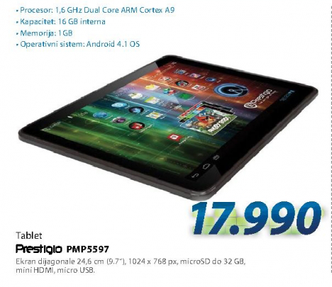 Tablet PC PMP5597D-BF-DUO  MULTIPAD AND4.1