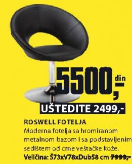 Fotelja Roswell