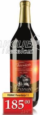 Crno vino Vranac Povardarje