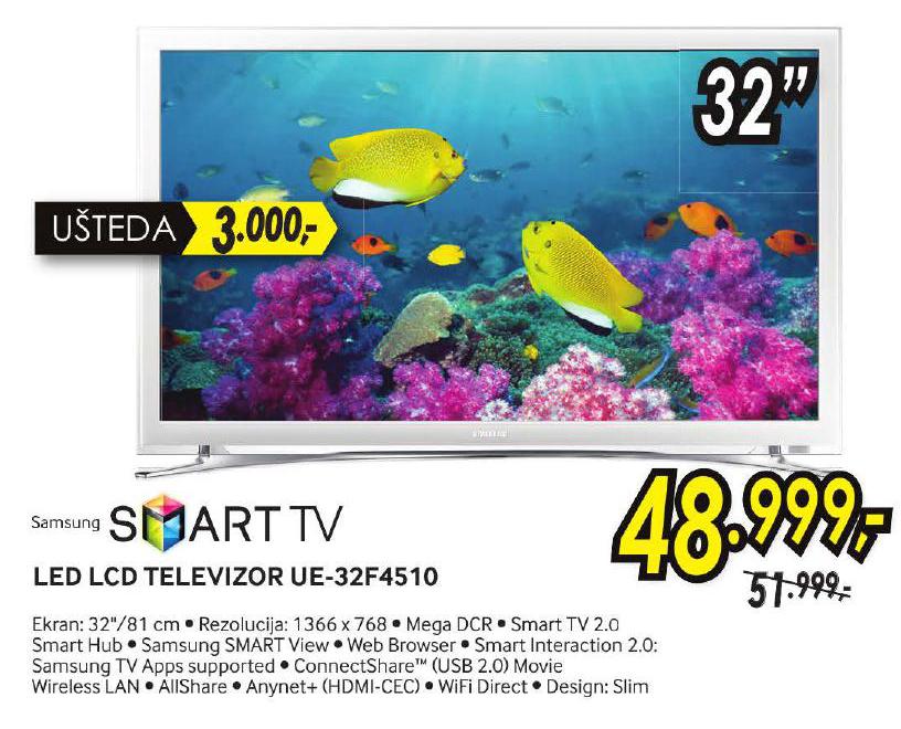 LED Televizor UE32F4510