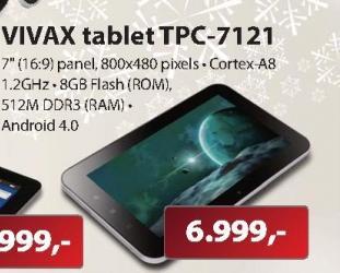 """Tablet 7"""" TPC-7121"""