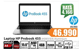 Laptop ProBook (H0W31EA) Aluminijum
