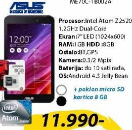 Tablet MemoPad ME70C-1A003A