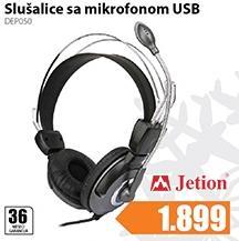 Slušalice sa mikrofonom USB DEPO50