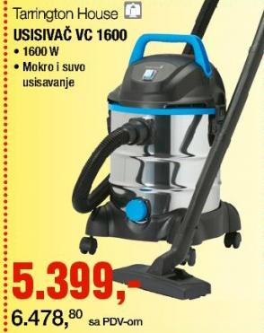 Usisivač VC 1600
