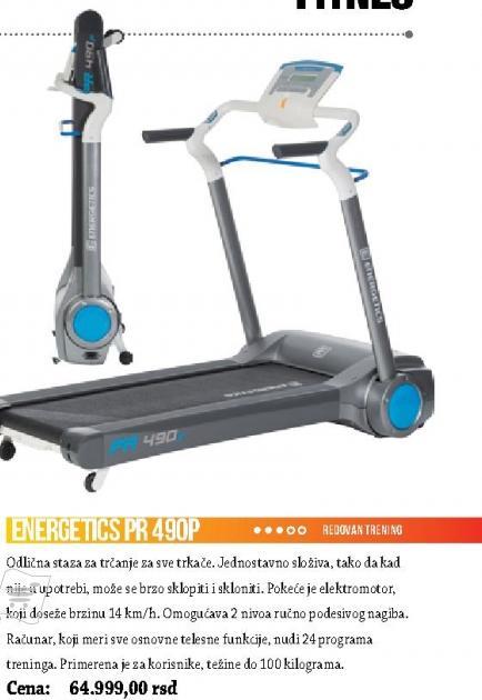 Traka za trčanje Energetics PR 490P
