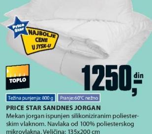 Jorgan Sandnes, Price Star