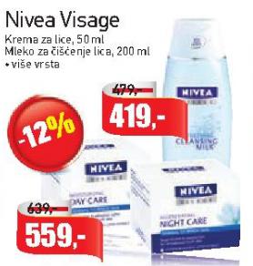 Mleko za čišćenje lica Visage